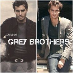 The Grey Brothers. Christian & Elliot.  #fsog #officialcast