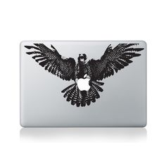 Eagle with Apple in Claws Macbook Sticker #design #macbook #macbookstickers #pimpmymacbook #decals #stickers #vinyl #DIY #laptop #eagle #claws