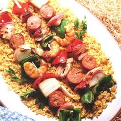 Caribbean food 12, this looks like a delicious meal yum!
