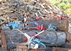 History of Bow Saws Chainsaw Repair, Power Saw, Wildland Fire, Logging Equipment, Vintage Tools, Wood Cutting, Thanksgiving Crafts, Cool Tools, Woodworking Tools