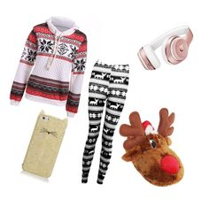 """""""Chilloutfit"""" by laurozic on Polyvore featuring Mode, Boohoo, Beats by Dr. Dre und Kate Spade"""