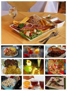 Haitian food....bon bagay...