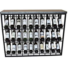 BigBuy Home Bottle rack Iron X 34 x 94 cm) If you want to add a touch of originality to your home, you will do so with botelleros. Bottle Rack, Bottle Holders, Household Items, Wine Rack, Iron, In This Moment, Touch, Home, Ice