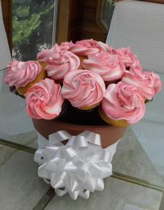The Cupcake Rack - perfect for any party.  Centerpiece, cupcake display, hostess gift.