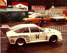 Alfetta GTV Turbo Group 5 Car