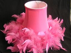 Google Image Result for http://i.ebayimg.com/t/Pink-Lamp-Shade-with-Feathers-HOT-ITEM-/00/s/MTE5N1gxNjAw/%24T2eC16RHJG8E9nyfnUUhBQPoTjNd8w~~60_35.JPG