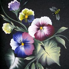 Pansies painting by Mary Hildesheim - Google+