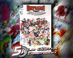 BATMAN LI'L GOTHAM # 1 INTERESANTE EXPERIMENTO. $ 50.00 Para más información, contáctanos en http://www.facebook.com/la5aDimension