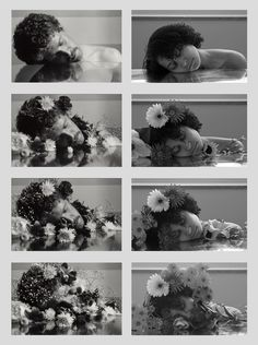 In an introductory photography class, we studied various famous photographers. At the end of the semester, we were asked to emulate a photographer whose style we liked. I chose Duane Michals' The Dream of Flowers. Photography Storytelling, Narrative Photography, Photography Series, Surrealism Photography, Conceptual Photography, Photography Projects, Artistic Photography, Senior Photography, Fine Art Photography