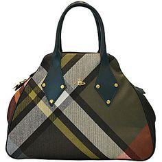 "Vivienne Westwood Handbags ""LARGE JASMINE MAC BRUCE"" Fall/Winter 2013/2014"