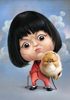 Cute Illustrations by Wanchana Intrasombat