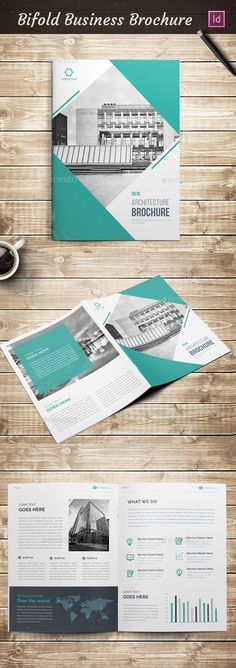 Bifold A4 Brochure Template InDesign INDD. Download here: http://graphicriver.net/item/bifold-a4-brochure/16752512?ref=ksioks