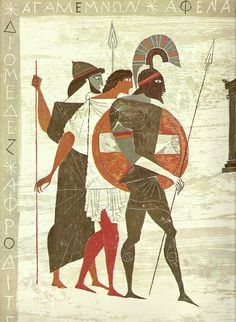 Homeric characters by arthurvankruining, via Flickr