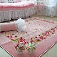 shabby chic rug. The price is $235.00 for the rug. Click on the link and you will go right to it.