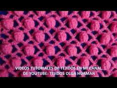BLUSA PUNTADA DE COCODRILO - Regalo para Mamá fácil y rápido - Tejiendo con LAURA CEPEDA - YouTube