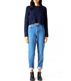Definitive Proof That Mum Jeans ARE Stylish via @WhoWhatWearUK