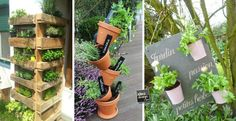 Creare un angolo erbe aromatiche originale in giardino! 20 idee per ispirarvi…