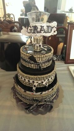 graduation money cake - Google Search