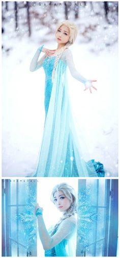 Elsa Disney's Frozen Cosplay