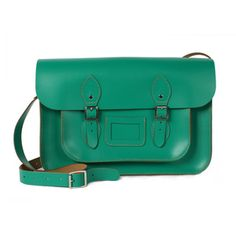 """Satchel 12.5"""" Greennow featured on Fab"""