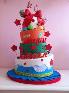 #birthday cake #40 #party www.lallabycakes.blogspot.it