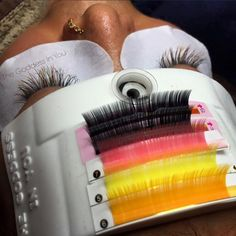Wanna speed up your time in applying lashes? Try #GoddessArena to help you save time! Private message me to place your order or you can place your order on thegoddessinyou.ecwid.com Comes in 7 colours!!!