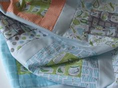 Lovely quilt by Jo Duncan in Patty Sloniger's Backyard Baby fabrics