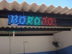LED Sign Programable 16x96 Pixel. Publicidad efectiva. - Letreros LED, Avisos LED, Pantallas LED Programables. Colombia - www.LetrerosLED.co