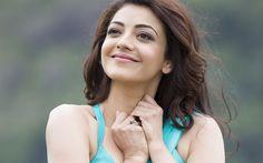 Download wallpapers Bollywood, 4k, Kajal Aggarwal, beautiful woman, beauty, portrait