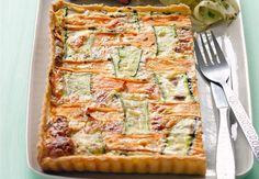 Tarte à la carotte et aux courgettesDécouvrez la recette de la tarte à la carotte et aux courgettes