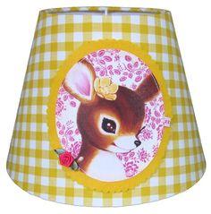 Lampenkap Oh deer // claradeparis.com ♥