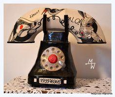 Lampa Telefon | MW Ceramics #ceramic #ceramics #ceramika #clay #grafika #lamps #lampa #polandhandmade #MWCeramics