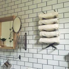 Chiakiさんの、タオル,タオル収納,タオルストッカー,IKEA,ディッシュスタンド活用法,ディッシュスタンド,バス/トイレ,のお部屋写真