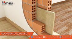 Veja dicas para fazer um isolamento acústico residencial e evitar ruídos Architecture Details, Interior Architecture, Eco Deco, Construction, Sound Proofing, Home Projects, Facade, House Plans, Sweet Home