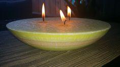 Frangipani Centrepiece Candle
