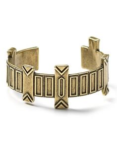 House Of Harlow 1960 Totem Pole Cuff