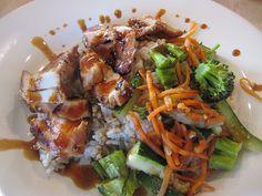 Rumbi Island Grill Chicken Teriyaki Rice Bowl