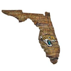 Jackson Ville, Jacksonville Jaguars, High Fashion Home, State Map, Mdf Wood, Wall Hanger, Wall Signs, Rustic Wood, Wall Art