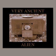 VERY ANCIENT ALIEN PRINT - $14.95