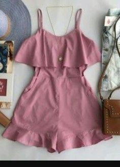 Girl Outfits, Casual Outfits, Cute Outfits, Fashion Outfits, Cute Dresses, Girls Dresses, Teen Fashion, Womens Fashion, Baby Dress