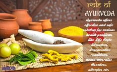 #Ayurveda offers effective and safe solution for various #health problems like #LifeStyleDisorders, #degenerative conditions, #NeuroMuscular disorders, #allergies etc. #Ayurvedic #OnlineStore