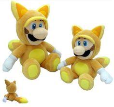Peluche del videojuego Mario Bros.