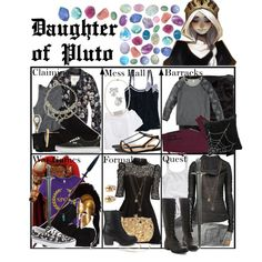 """Daughter of Pluto ~ Wardrobe"" by liesle on Polyvore"