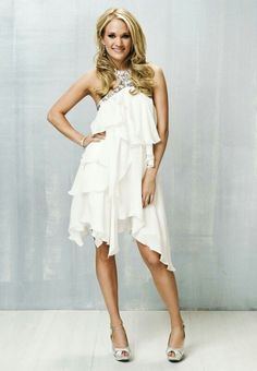 carrie underwood. so beautiful from head to sexy peep toes!!