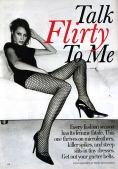 Christy Turlington by Terry Richardson for Allure July hair Rick Haylor, makeup Francisco Valera Commercial Modeling, Nadja Auermann, Stephanie Seymour, Carla Bruni, Terry Richardson, Fishnet Tights, Linda Evangelista, Christy Turlington, Fashion Seasons