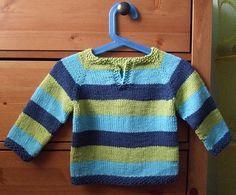 Patrón gratis http://juntitoscrafts.blogspot.com.es/2011/08/jersey-de-rayas.html