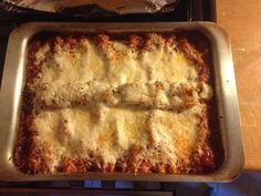 Cannelloni paradicsom szósszal (saját ötlet)