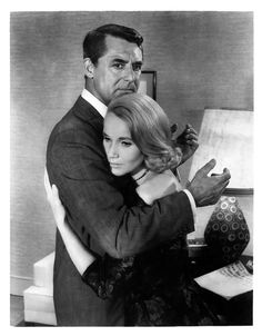 Cary Grant & Eva Marie Saint from the Hitchcock movie North by Northwest