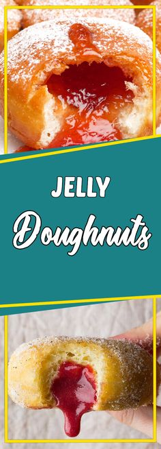 JELLY DOUGHNUTS #appetizer appetizer recipes easy #recipeoftheday recipe of the day #sundaysupper sunday supper ideas #dessert dessert ideas #dessertrecipes dessert recipes easy #desserttable dessert table ideas