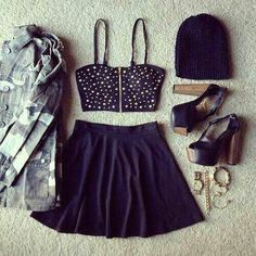 ♥ super cute/girly outfit
